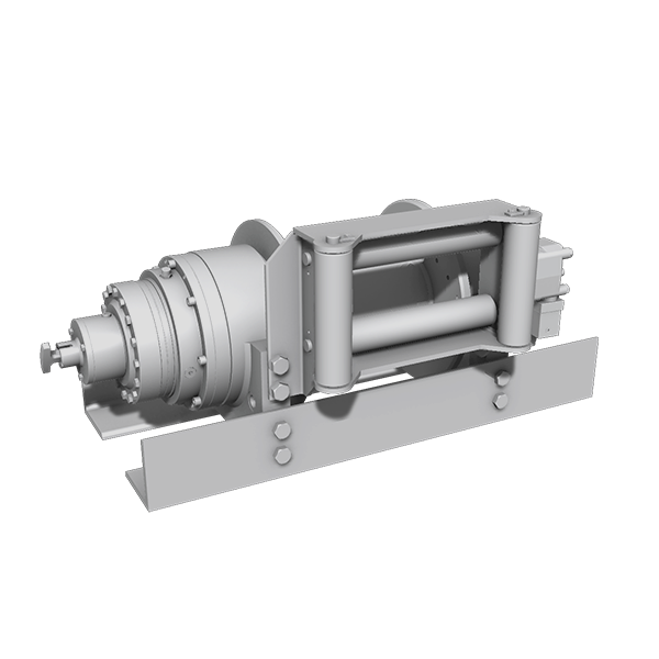 Hydraulic winches - planetary gearbox system
