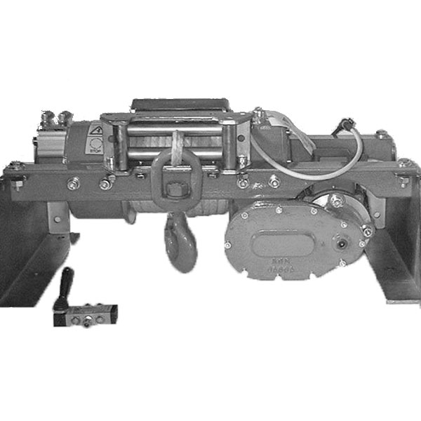 Electric (AC 220-380V) winches - worm drive system